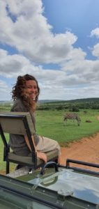 Chiara in Africa | Guida Safari